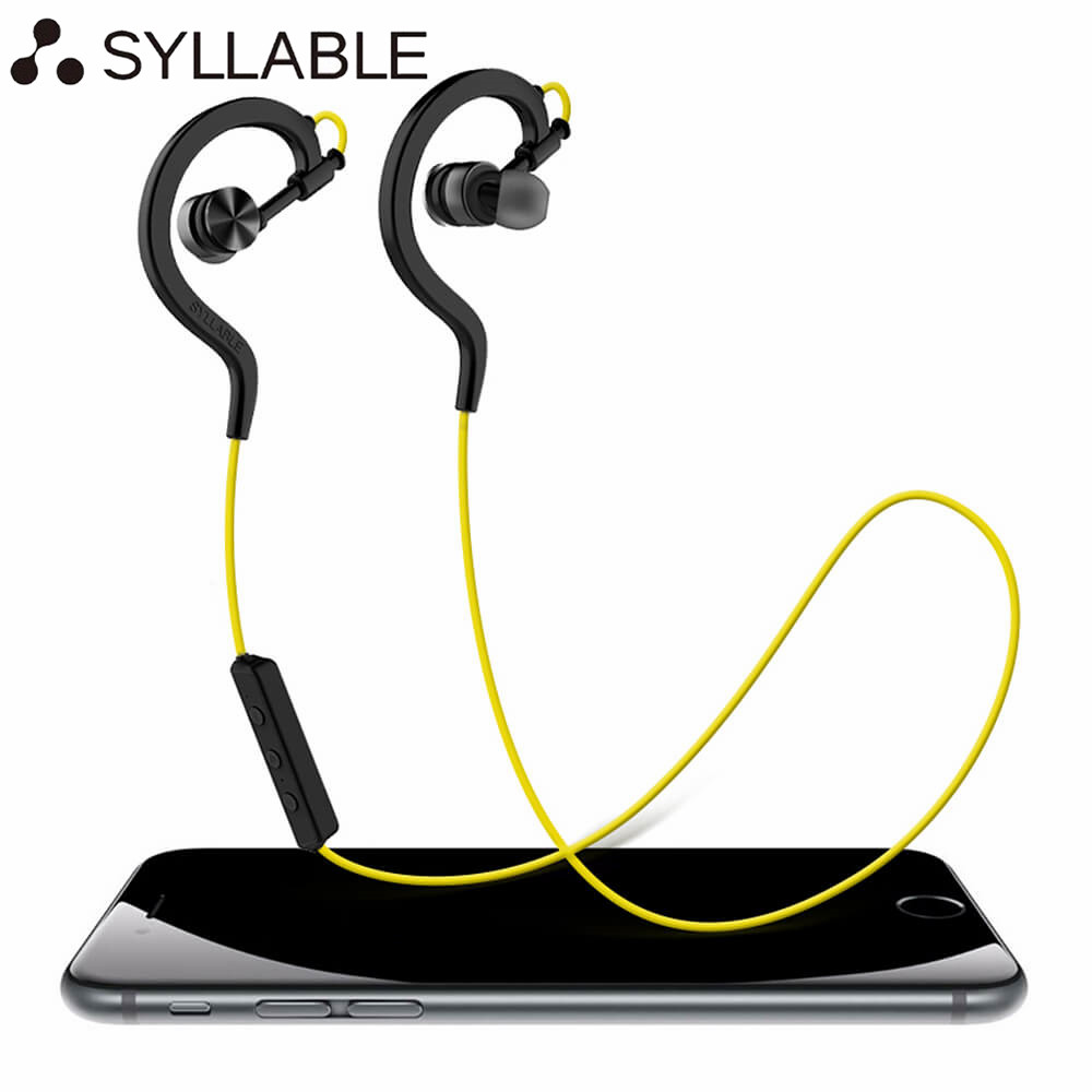 Syllable d700 2017 earphones bluetooth 4 0 wireless sport earbuds music stereo headsets with mic for
