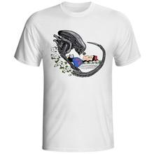Alien T Shirt Parody Design T-shirt Fashion Novelty Style Cool Tshirt Men Women Tee