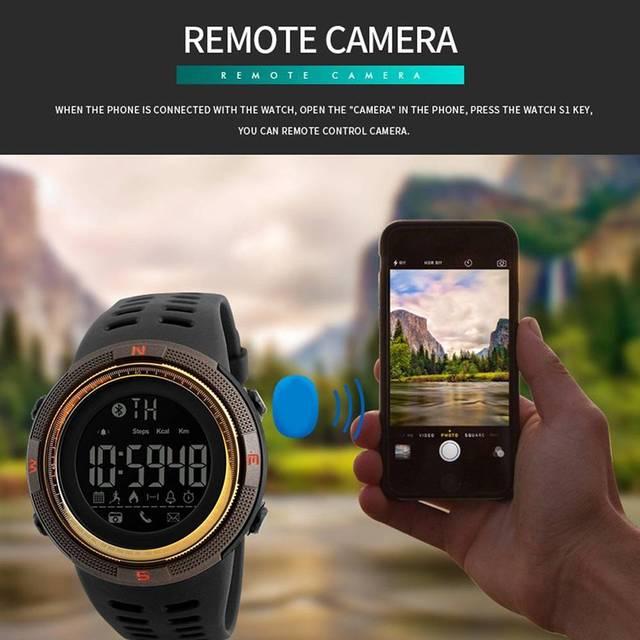 Good Quality Bluetooth Waterproof Smart Watch Swim Sports Pedometer Calories Bru