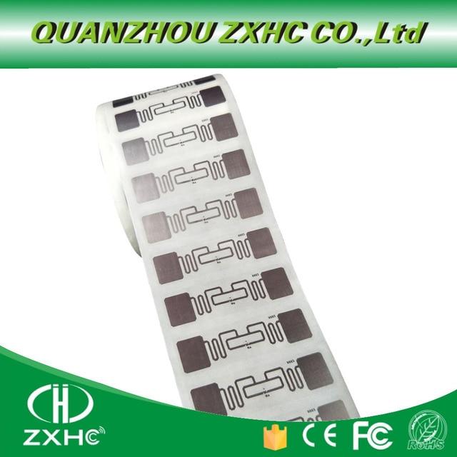(10 adet/grup) uzun Menzilli RFID UHF Etiketi Sticker Islak Kakma 860 960 mhz Alien H3 EPC Küresel Gen2 ISO18000 6C