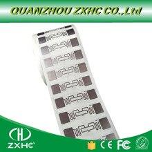 Étiquettes RFID UHF 860 960mhz, autocollant à longue portée, Alien H3 EPC, Global Gen2, ISO18000 6C, 10 pièces/lot