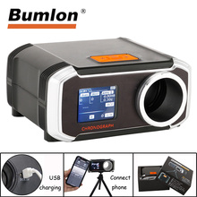 цены Bumlon B3200 Airsoft Speed Tester Hunting Shooting Paintball Chronograph Speed Tester Multilanguage Wireless Connection to Phone