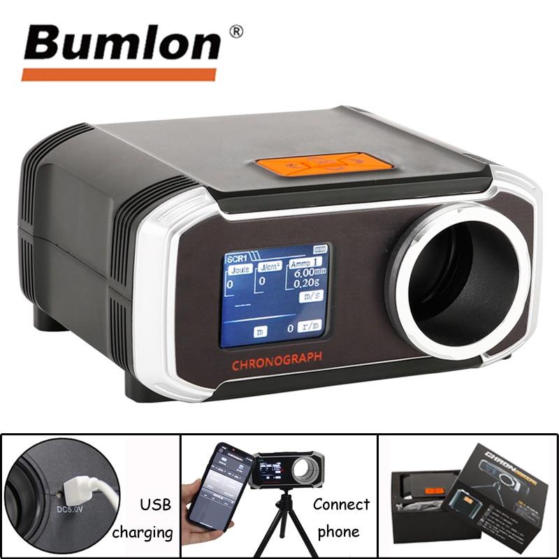 Bumlon B3200 Airsoft testeur de vitesse chasse tir Paintball chronographe testeur de vitesse multi-langue connexion sans fil au téléphone