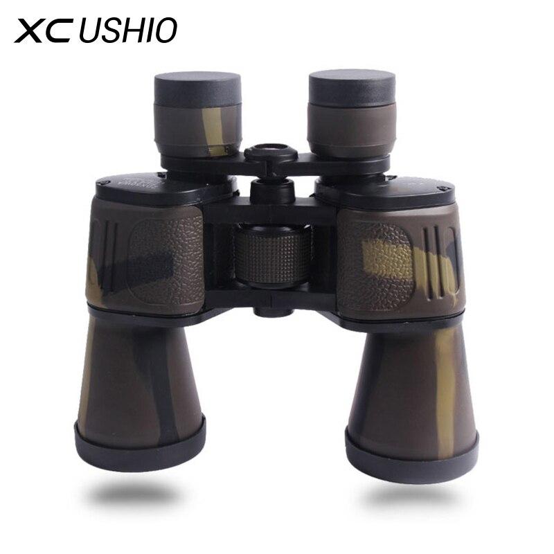 Высокое качество классические бинокли 20x50 HD Широкий формат BAK4 Призма бинокулярный телескоп для наружной Путешествия Охота экскурсии
