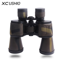 Promo offer High Quality Classic Binoculars 20X50 HD Wide Angle BAK4 Prism Binocular Telescope for Outdoor Travel Hunting Sightseeing