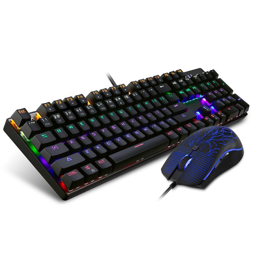 Good Sale Motospeed Inflictor CK666 Mechanical Keyboard Switches Backlit With Gaming Mouse Sep 29 motospeed ck666 gaming keyboard blue switches usb wired ergonomic design led backlit optical mechanical keyboard mouse combo