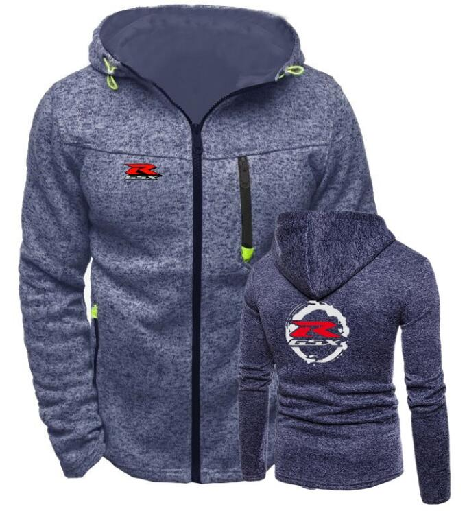 Men's Clothing Good 2018 Brand Suzuki Print Hoodie Zipper Cardigan Hoodies Men Fashion Tracksuit Male Sweatshirt Hoody Mens Purpose Tour Xxl Autumn
