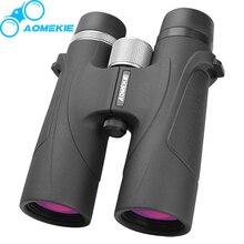 AOMEKIE 8X42 HD Binoculars Professional FMC Coated Lens High Power BAK4 Prism Hunting Telescope Wide Field Vision Telescope