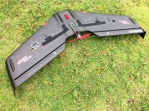 Image 2 - 파충류 s800 v2 스카이 섀도우 820mm 윙스 팬 블랙 epp 플라잉 윙 fpv racer kit/pnp