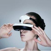 Smart head wearing cinema really 3D giant screen HD 1080P Bluetooth WIFI VR smart glasses