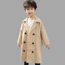Abesay Jackets For Autumn Trench Solid Long Coat Clothing