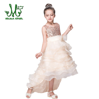 2016 New Fashion Dress For Girl Princess Party Dress For Baby Girl Sleeveless Dress For 3