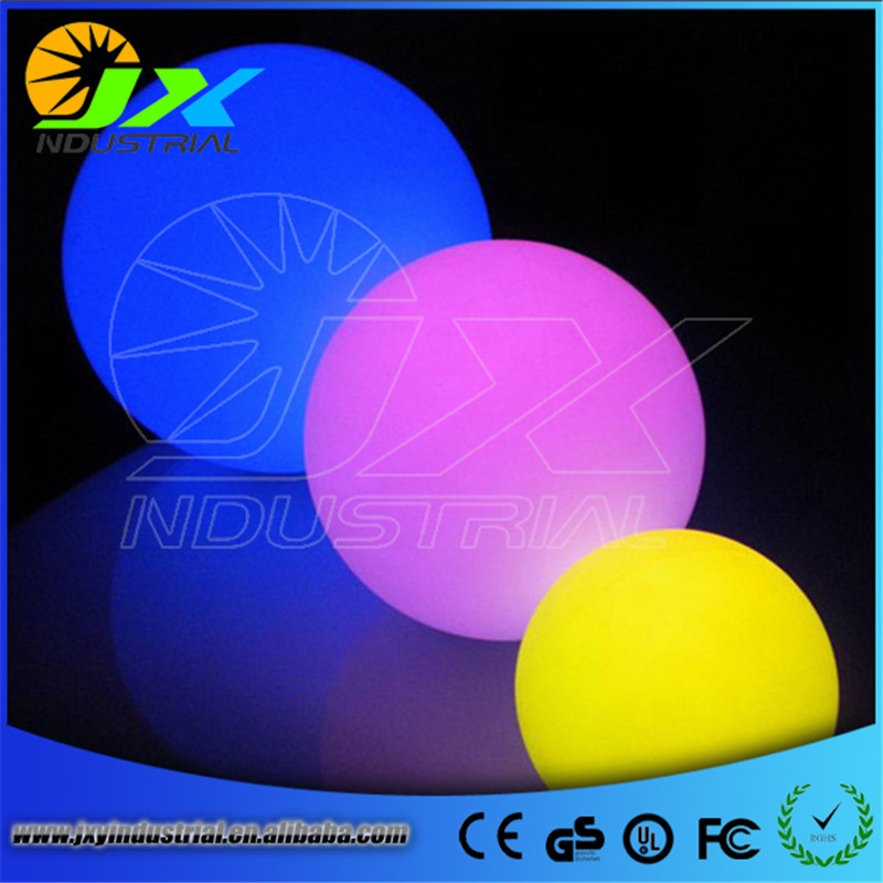 JXY 4pcs*20cm Hot DHL Free Shipping Rechargeble RGB 16 Colors LED Floating Ball Lamp
