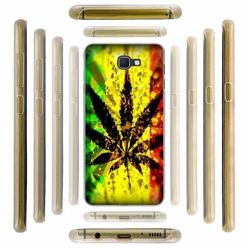 Fulcol лист сорняков трава huf жесткий чехол для телефона для Samsung Galaxy J3 J8 J2 J7 J5 J6 2015 2016 2017 2018 J2 Pro Ace J7 J3 J5 Prime