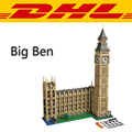 2017 New LEPIN 17005 4163Pcs City Creator Series Big Ben Model Building Kit Blocks Bricks Compatible Toys For Childre Gift 10253