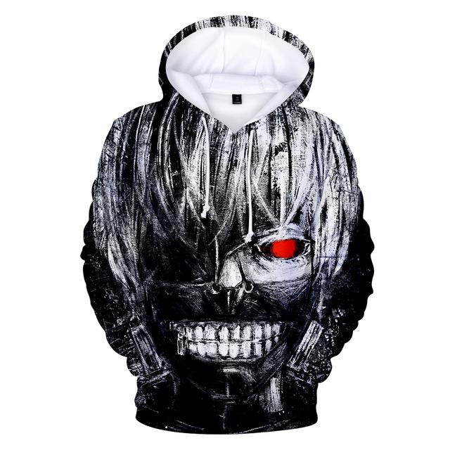 Tokyo Ghoul  3D Hoodie