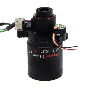 Image 2 - Lente Varifocal con Motor de 5 megapíxeles, D14 DC IRIS de 5 50mm, Visión de larga distancia con Zoom motorizado y enfoque para cámara 1080P/AHD 5MP/IP