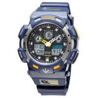 100M Wasserdicht Schwimmen Dive Uhr Männer Sport Uhren PASNEW Analog Digital Military Armbanduhr Relogio Masculino Hodinky