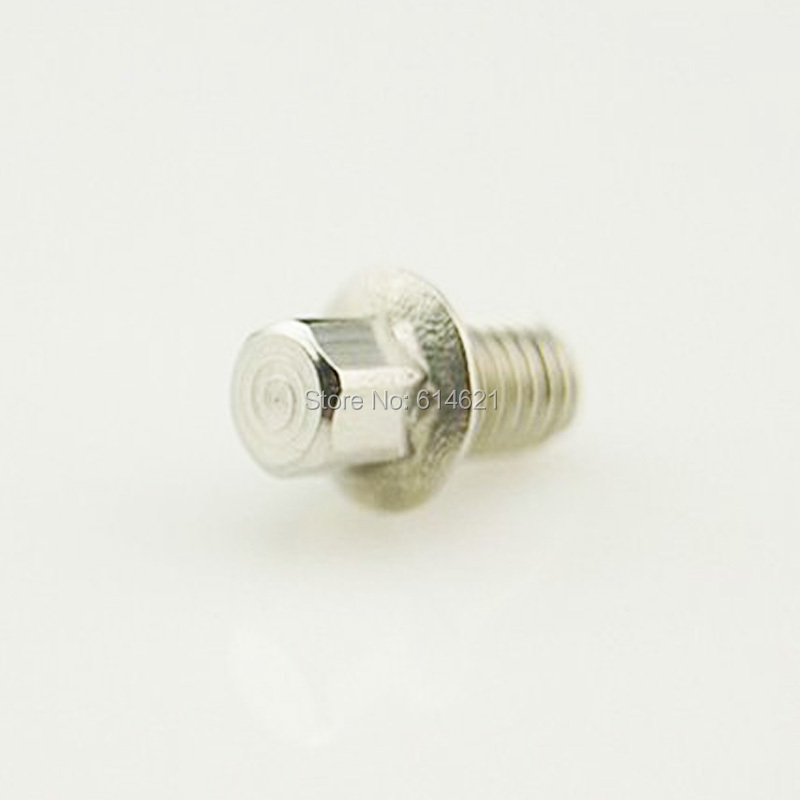 Extra Grip Stainless Steel HT AE01 Pedal Pins 10mm Long w// fine threads