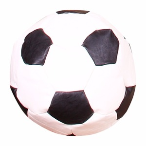 Image 3 - LEVMOON Beanbag Sofa Chair ball  Seat Zac Comfort Bean Bag Bed Cover Without Filling  Just Shell  Rugby beanbags