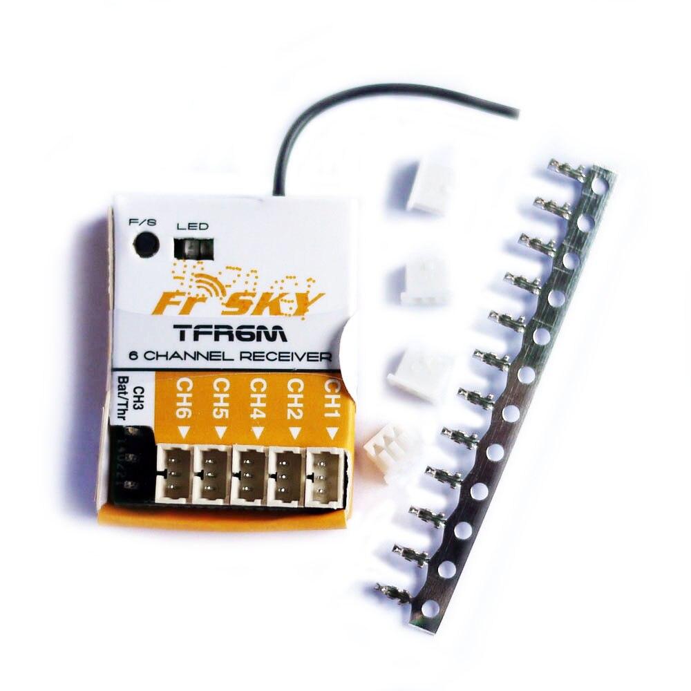 FrSky TFR6M FASST 6CH Micro récepteur Compatible Futaba Drones