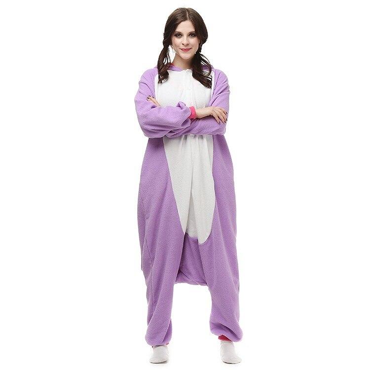 Kigurumi Pajamas Adult Unicorn sleepwear Cosplay Costume  Party Jumpsuit