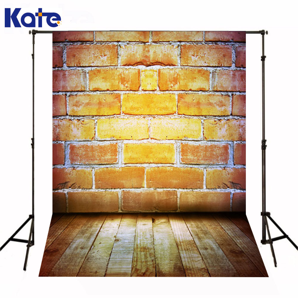 Kate Backdrop Newborn Baby Yellow Brick Wall Fond Photographine Wooden Floor Fundo Fotografico Background For Photo Studio элтон джон elton john goodbye yellow brick road deluxe edition 2 cd