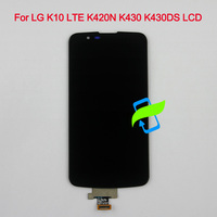 Original Display For LG K10 LTE K420N K430 K430DS K410 LCD Touch Screen Digitizer Assembly with Frame For LG K10 LTE K410 LCD