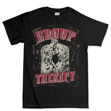 Group Therapy Guns Shooting Target AR-15 AK47 Rifle T shirt Tee Top T-shirt Cool Casual pride t shirt men Unisex New Fashion(China)