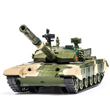 цена на 1:32 type 99 main battle tank simulation military alloy model simulation sound and light pull back children's toy model gift