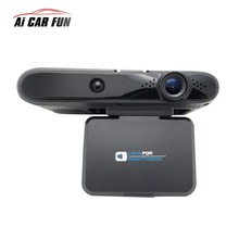 2in1 Auto-detector Anti Rivelatore Del Radar Flusso Dectcting Speedcam Dash Cam Macchina Fotografica Dell'automobile Dvr Videocamera per auto Video Recorder Camcorder 11.11