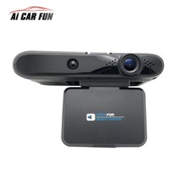 2in1 Car detector Anti Radar Detector Flow Dectcting Speedcam Dash Cam Car Dvr Camera Car Camera Video Recorder Camcorder 11.11