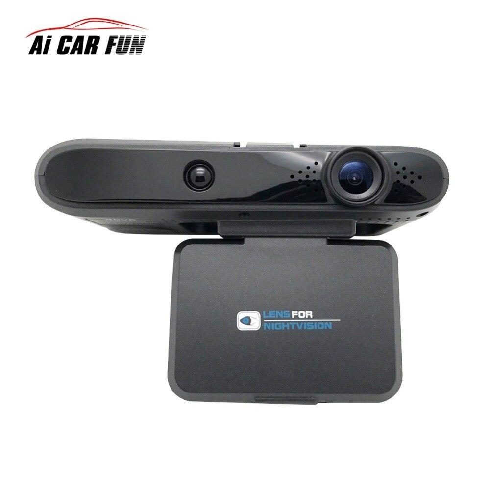 2in1 détecteur de voiture Anti-Radar détecteur de débit Dectcting Speedcam Dash Cam voiture Dvr caméra voiture caméra enregistreur vidéo caméscope 11.11