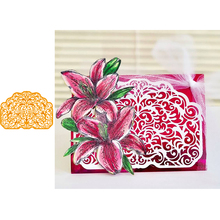 Lace Edge Frame Big Metal Cutting Dies for Scrapbooking 2019 Paper Craft Embossing Die Card Making Stencils Knife Mould