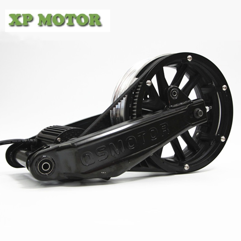 QSMOTOR 1000W BLDC Mid-drive Motor Assembly Conversion Kits For Electric Scooter