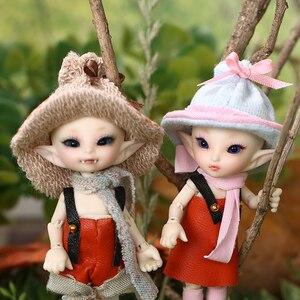 Image 5 - Boneca bjd 1/13, freeshipping, fadas, fl realpuki, roro, brinquedos para menina, boneca articulada