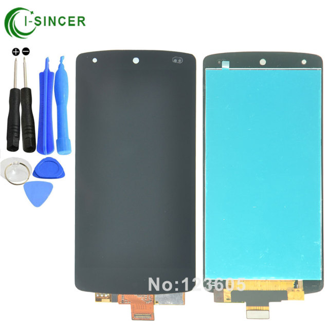 For LG Google Nexus 5 D820 D821 lcd display Touch Screen with Digitizer Assembly black +tools Free shipping
