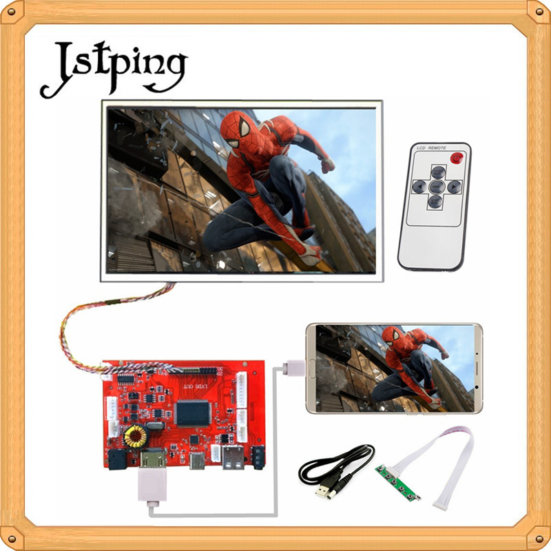 Jstping 10.1 inch Magnifier HD 1280*800 Type-C LCD Controller Board phone Remote Control driver Type C amplifier display screen