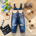 New 2016 spring autumn pants children baby overalls boys & girls denim jeans pants  jeans trousers infant clothing for 1-3T