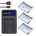 AOPULY 3Pcs Li-50B D-LI92 Li 50B D LI92 Camera Battery + LCD USB Charger For OLYMPUS SP 810 SZ14 SZ16 D755 XZ-1 VR350 SZ31 SZ16