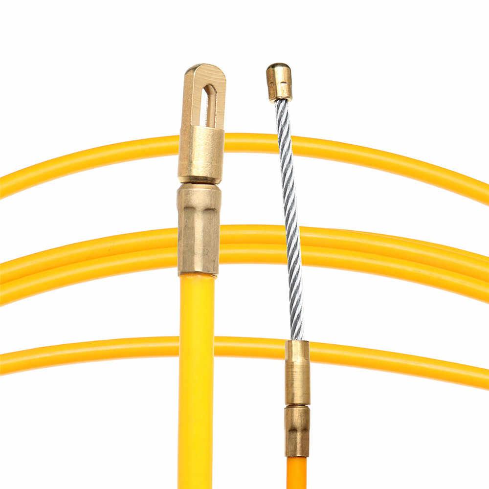 5/15/25m 6mm dispositif de guidage en fibre de verre câble électrique poussoirs conduit rongeur poisson ruban fil accessoires de câblage
