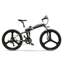 XT750-E 26 Inch Folding Electrical Bike, Entrance & Rear Disc Brake, Lengthy Endurance, with LCD Show, Pedal Help Bicycle