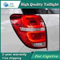 Car Styling Tail Lamp for Chevrolet Captiva 2015 Tail Lights LED Tail Light Rear Lamp LED DRL+Brake+Park+Signal Stop Lamp