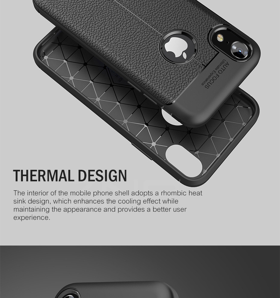 HTB1LDe dZfpK1RjSZFOq6y6nFXa0 - ZNP Luxury Shockproof Matte Cover For iPhone 6 7 8 Plus 6s Case Leather Carbon Fiber Leather For iPhone X XR XS Max Phone Case