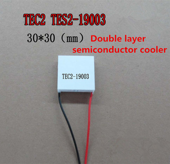 5PCS Double semiconductor refrigeration TES2-19003 12V3A 30*30MM large temperature difference 80C industry refrigeration Cooler