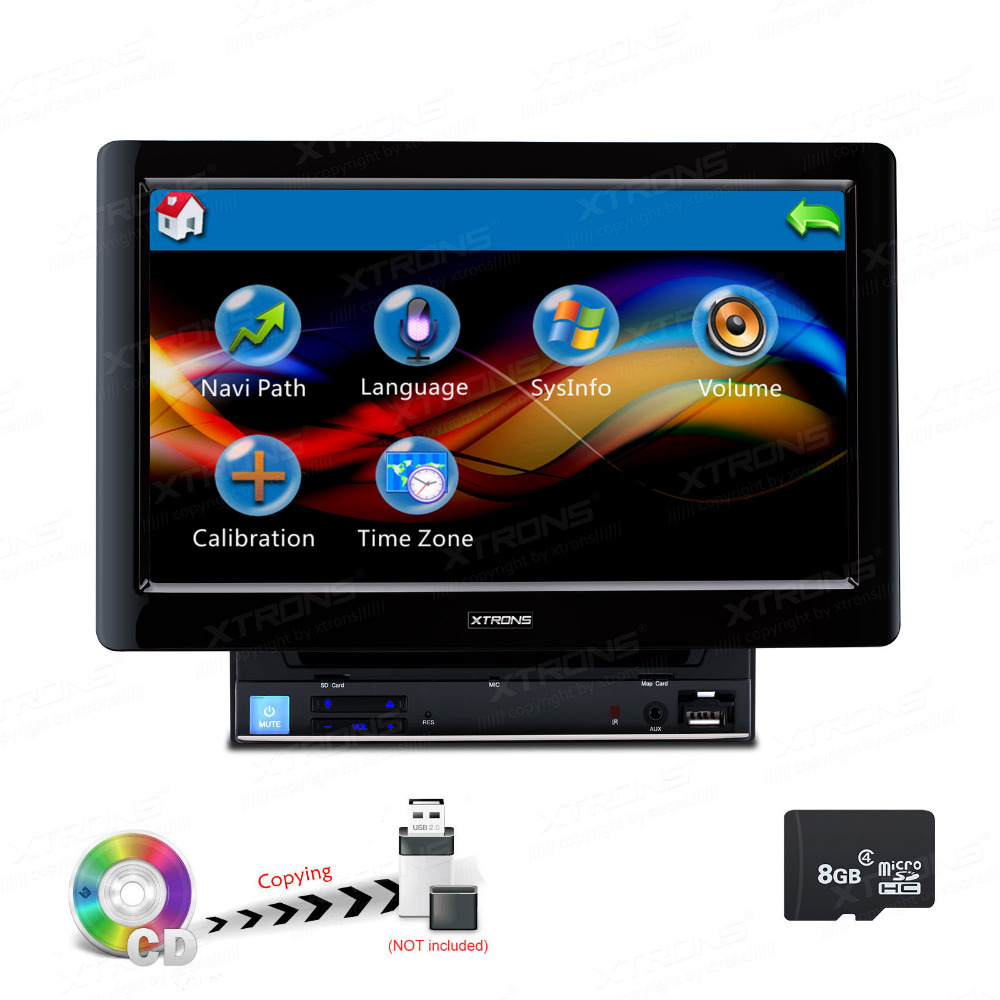 10.1 Capacitive Touch Screen Double Din Car DVD player 2 Din Car Radio Two Din Car GPS with 1024*600 Resolution image
