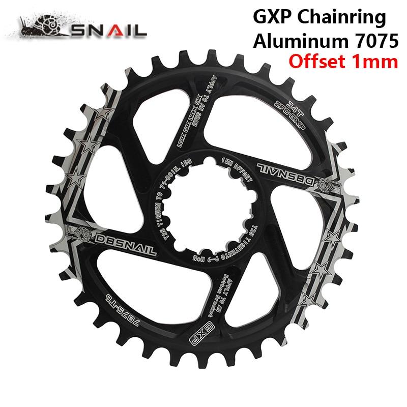 MTB GXP bicicleta platos y bielas de engranaje fijo manivela 34 T 36 T 38 T 40 T engranaje Chainwhee sram gx xx1 X1 x9 gxp pedivela 1mm