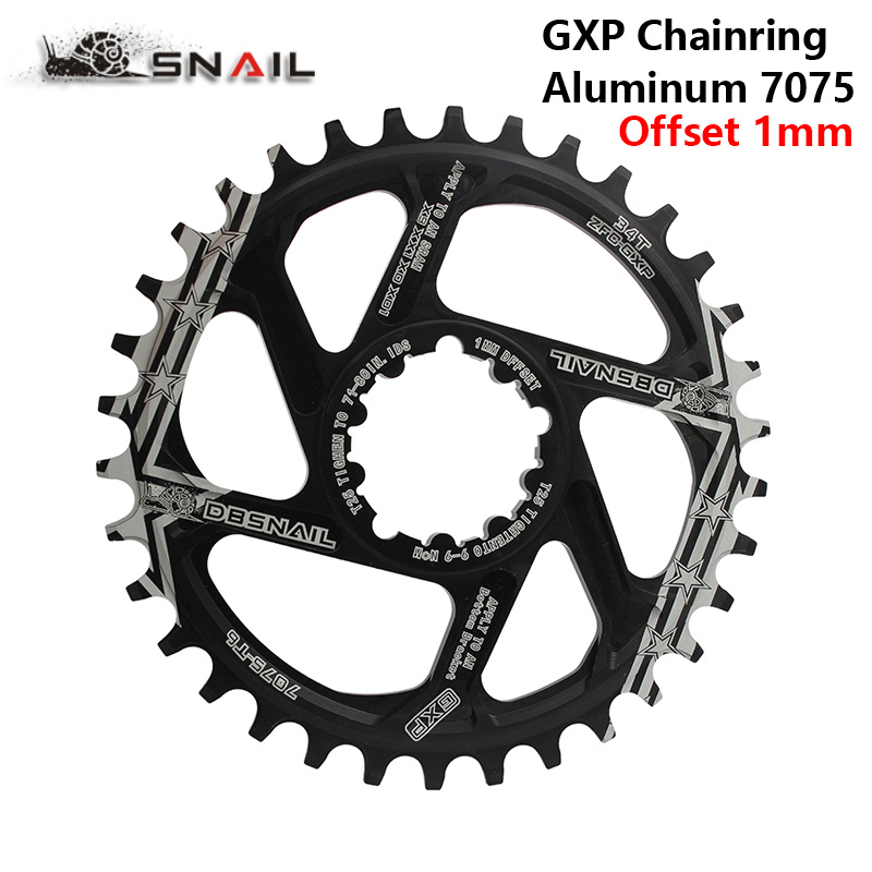MTB GXP bicycle Crankset fixed gear Crank 34T 36T 38T 40T Narrow Wide Chainring Chainwhee for sram gx xx1 X1 x9 gxp pedivela 1mm