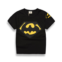 Brand 2017 new vogue youngsters child boys t-shirts clothes childrens garments 100%cotton shirt cartoon summer season quick t shirts