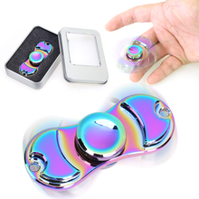 Titanium Alloy Fidget Spinner High Quality High speed EDC Fidget Spinner Bearing ADHD Focus Anxiety Relief Toys